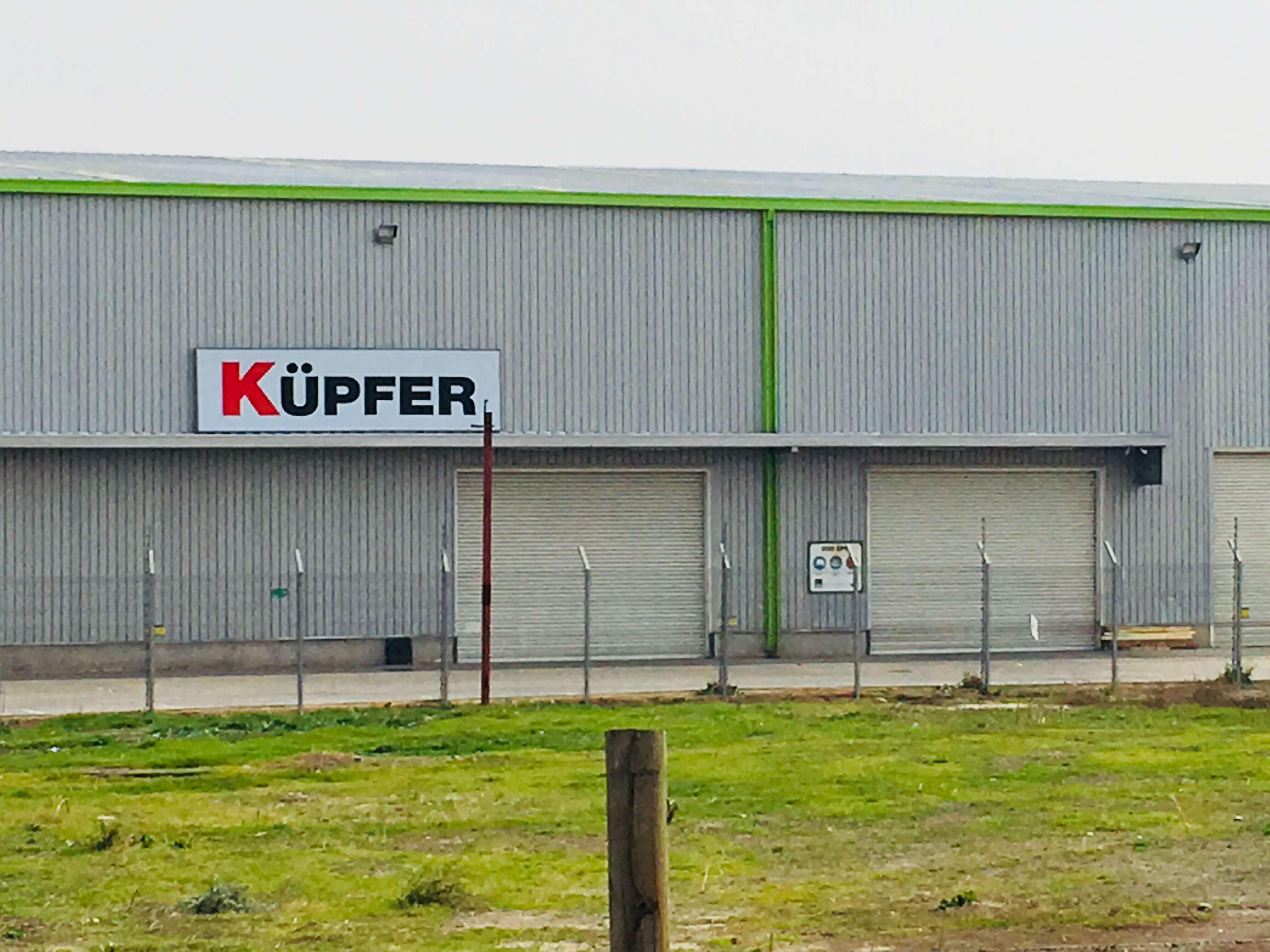 Cortinas metalicas -Centro de distribucion y bodegas Kupfer