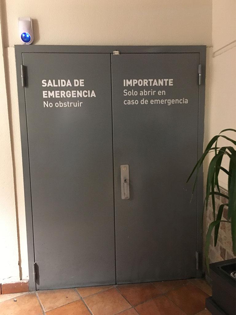 Puertas de emergencia 2 - Protec