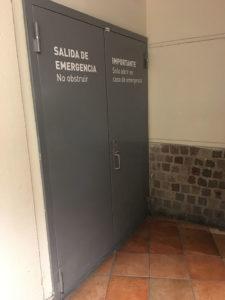 Puertas de emergencia - protec